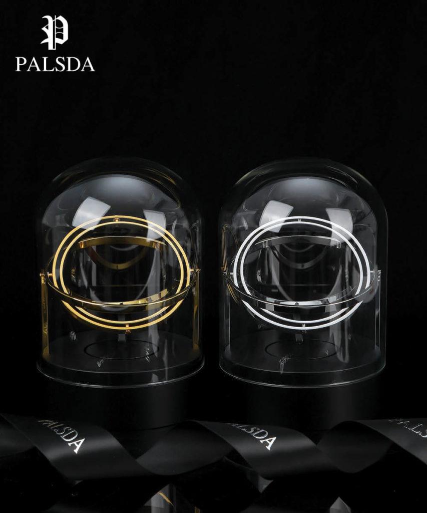 Palsda® Orbit-Classique Watch Winder (Silver)