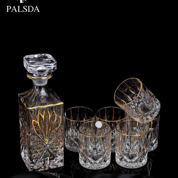 Palsda® Plumes Dorees Glasses Set